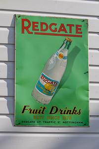 Redgate Tin Sign