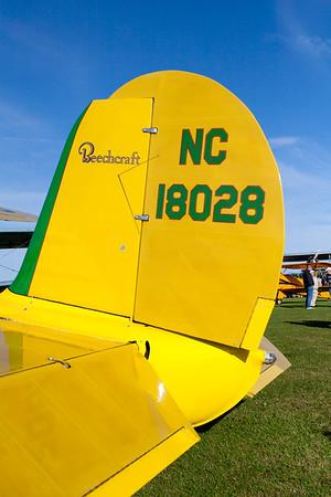1938 Beech D-17S Staggerwing