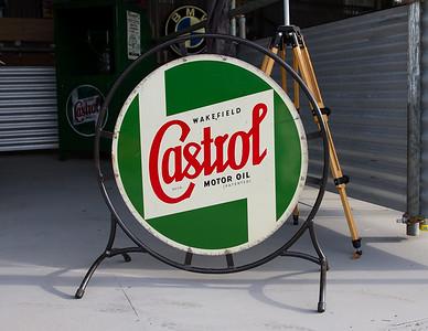 Wakefield Castrol Motor Oil Sign