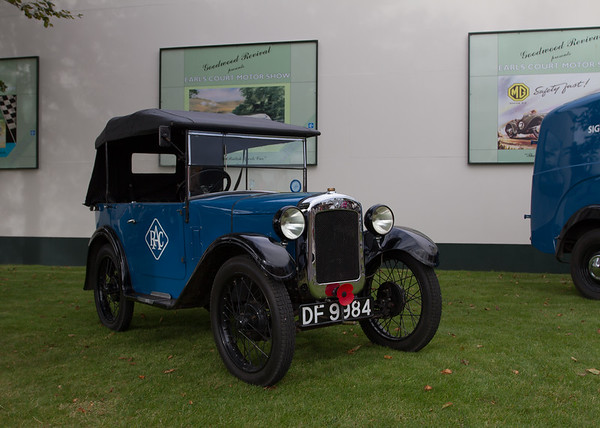 Austin 7 RAC Service Vehicle
