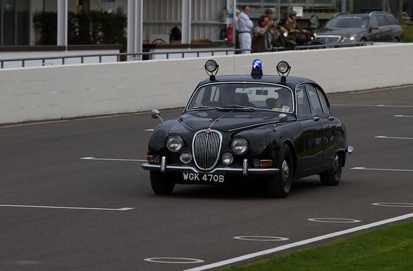Jaguar Mk 2 Police Car