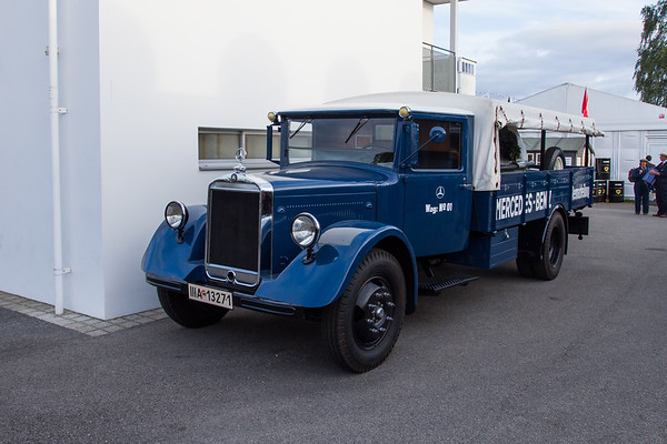 1934 - Mercedes-Benz LO2750 Racing Transporter, Wag.No.01