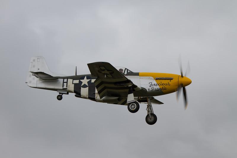 1945 - North American P-51D Mustang `Ferocious Frankie'