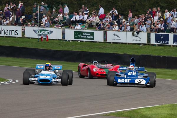 1973 -Tyrrell-Cosworth 006 and 1968 - Matra MS80