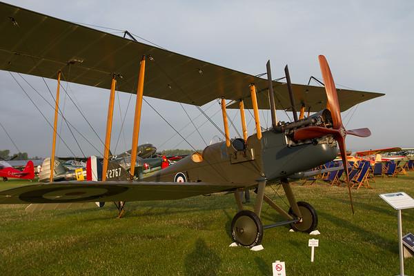 1916 - Royal Aircraft Factory BE2e