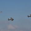 1945 - Avro Lancaster Mk 1 & 1945 - Avro Lancaster Mk X - Hawker Hurricane Mk IIc - Supermarine Spitfire Mk LF XVIE - Supermarine Spitfire P7350 Mk IIa