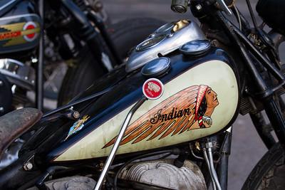 Indian Motorcycle Gas Tank