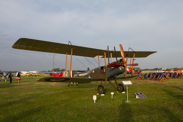1916 - Royal Aircraft Factory BE2e