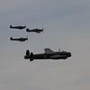 1945 - Avro Lancaster Mk 1 &  Hawker Hurricane Mk IIc - Supermarine Spitfire Mk LF XVIE - Supermarine Spitfire P7350 Mk IIa