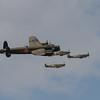 Avro Lancaster Mk X - Hawker Hurricane Mk IIc - Supermarine Spitfire Mk LF XVIE - Supermarine Spitfire P7350 Mk IIa
