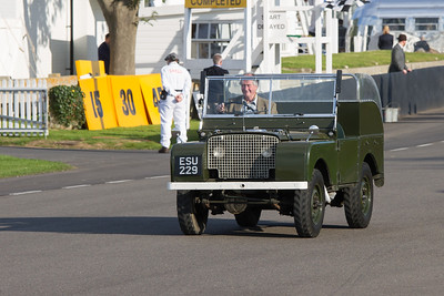 "1949 - Land Rover Series 1 81"" Rolls Royce Engine"