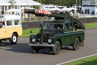 1958 - Land Rover Series II Moy Elevator