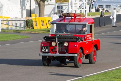 Land Rover Parade
