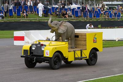 1950 - Land Rover Series I - Bertram Mills Circus