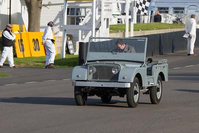 1947 - Land Rover Centre Steer Replica