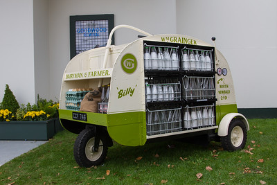 Nipper Three Wheeled Milk Float