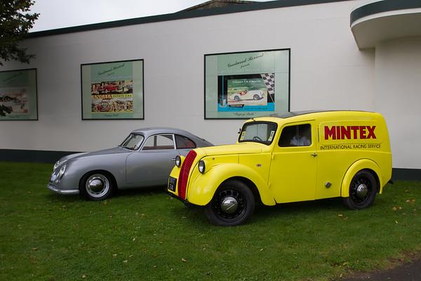 1953 - Morris 8 Series Z & Porsche 356