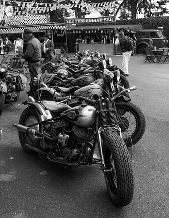 """Line of Motorbike """"Gasoline Alley"""""""