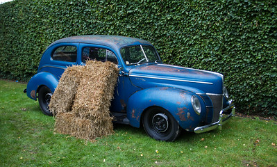 1940s -  Ford DeLuxe Sedan
