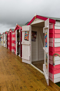 Wall Ice Cream Beach Huts