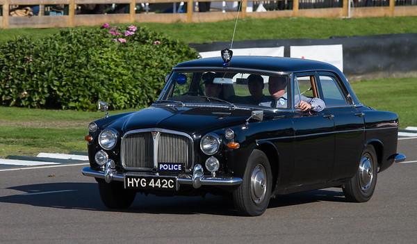 1965 - Rover 3 litre P5 Mk.III Police Car