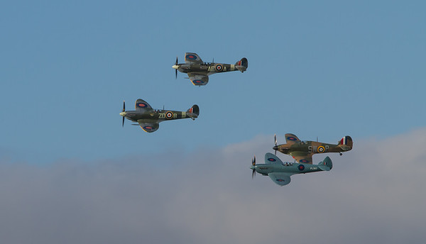 Hawker Hurricane & Supermarine Spitfire Display