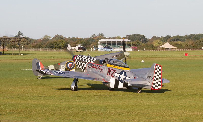 1944 - North American P-51D 'Contrary Mary'