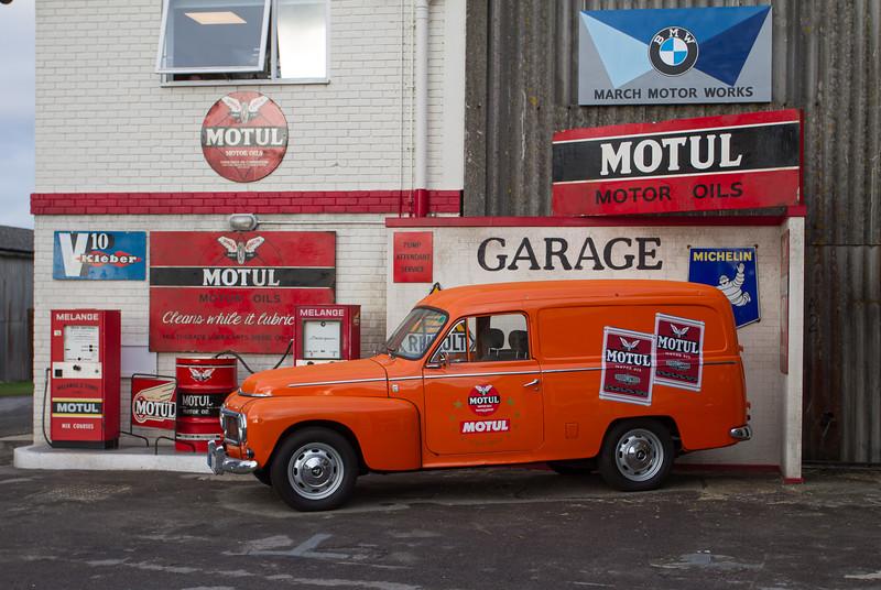 1962 - Volvo Amazon Van