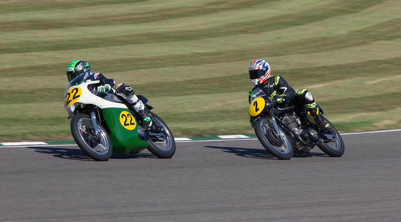 1962 - Norton Manx 30M and 1962 - AJS-Matchless 7R