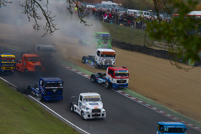 Halloween Truck Racing 2011- Brands Hatch