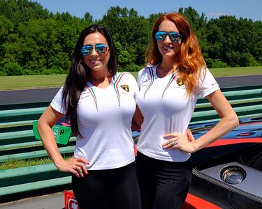 Lamborghini girls