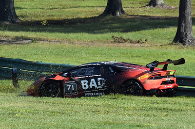 Lamborghini Super Trofeo crash