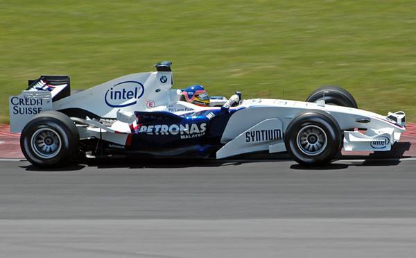 BMW Sauber Villeneuve