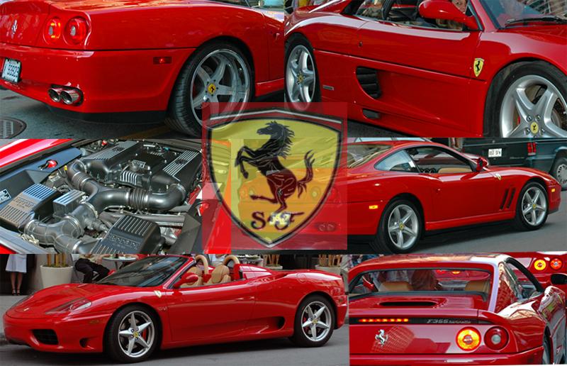 Ferrari montage