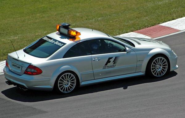 Mercedes CLK 63 AMG safety car