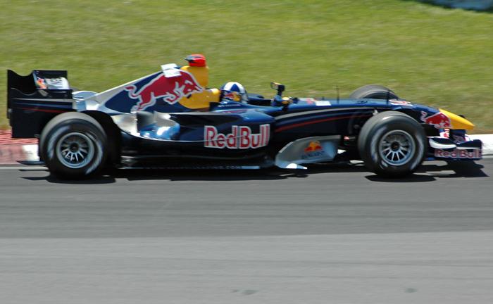 Red Bull Coulthard