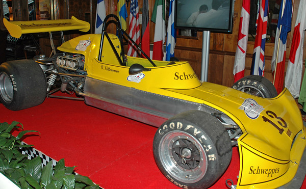 Gilles Villeneuve Formula Atlantic car