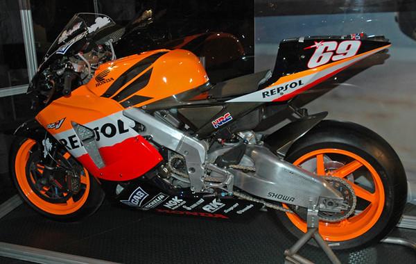 Honda Repsol Moto GP bike