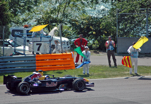 Montreal race day 15