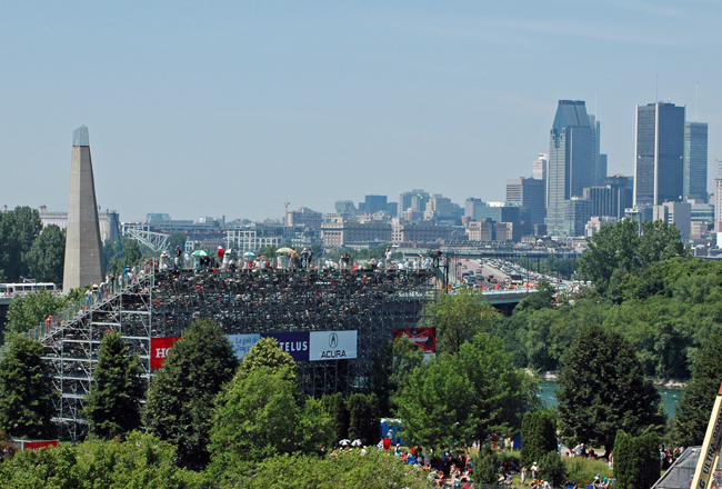 Montreal race day