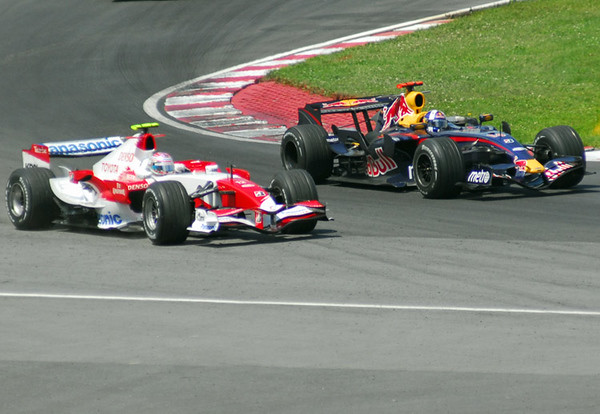 Trulli vs  Coulthard