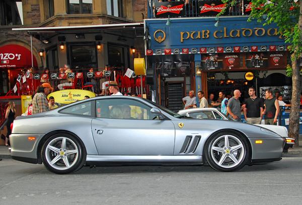 Crescent Street 10 Ferrari 550