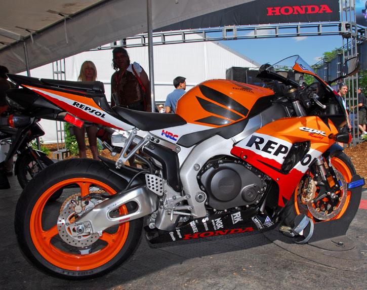 Honda Repsol CBR 1000 Moto GP Bike