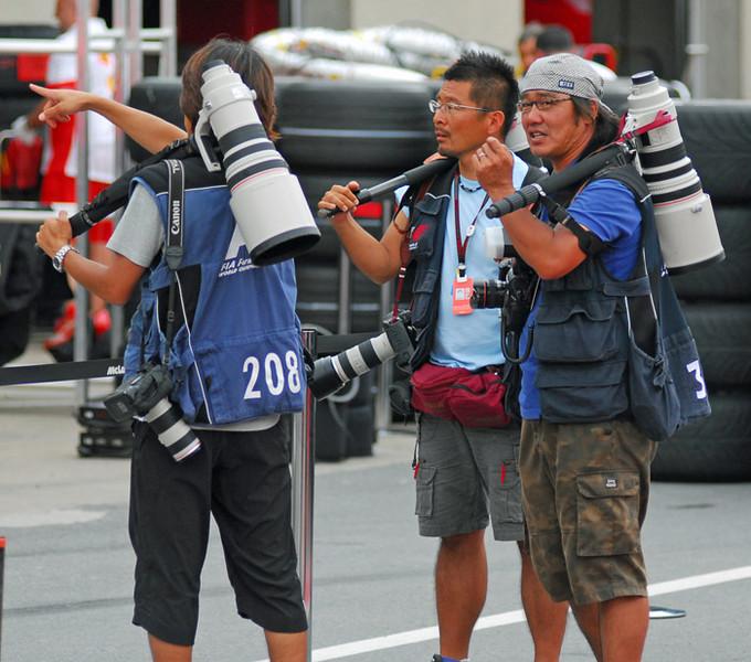 Pro F1 photographers