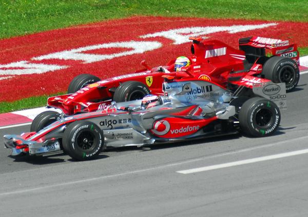 Alonso vs  Massa