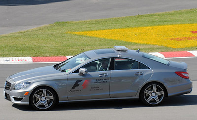 Mercedes F1 Safety car