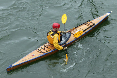 St  Lawrence River kayaker