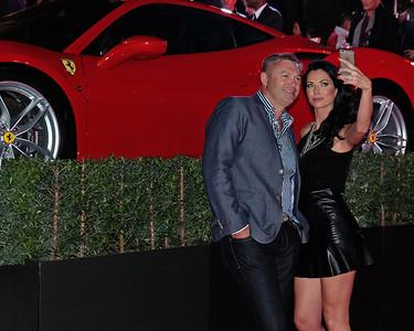 Ferrari party selfie