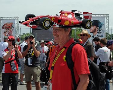 Ferrari car hat