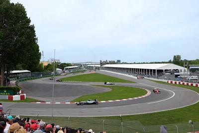 Race warmup lap